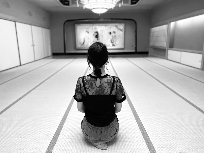 I spent a nice quite time.#art #japan #zen